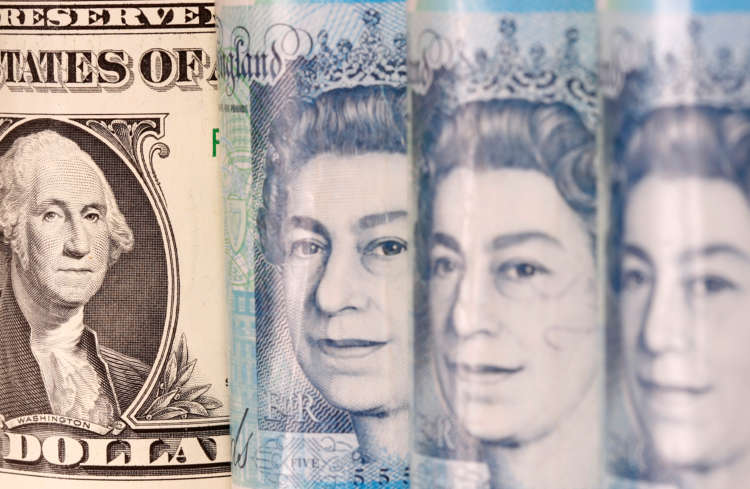 Sterling eases to 2-1/2 week low against dollar 1