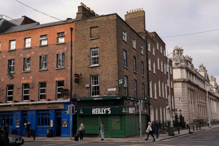 Sharp Irish services downturn eases slightly in February - PMI 2