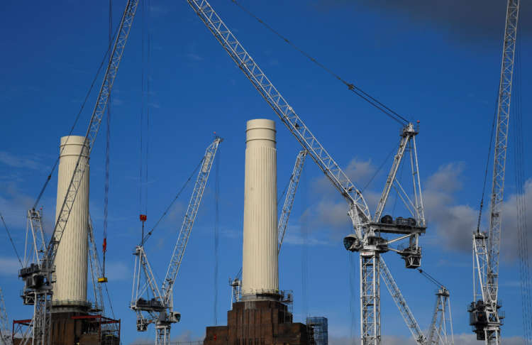 UK construction industry rebounds in February - PMI 13
