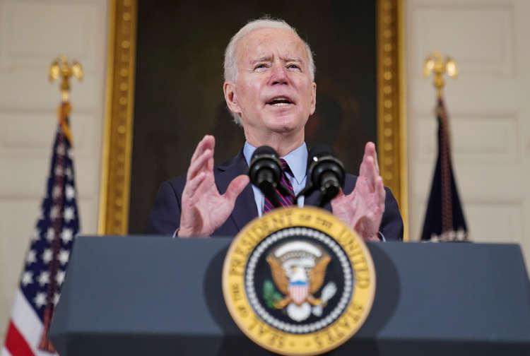 Biden signs $1.9 trillion stimulus bill into law on U.S. lockdown anniversary 1