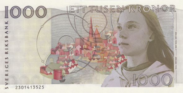 New banknotes designed to highlight the 88% gender gap on global currency for International Women's Day 19