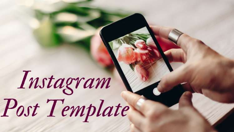 Use an Instagram Post Template to Customize Your Photos