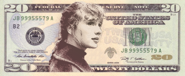 New banknotes designed to highlight the 88% gender gap on global currency for International Women's Day 20