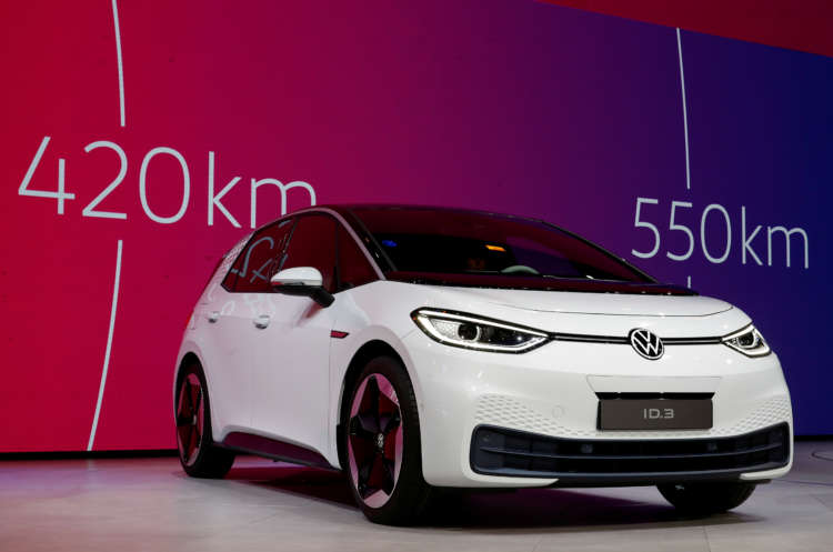 Volkswagen plans six European battery cell plants by 2030