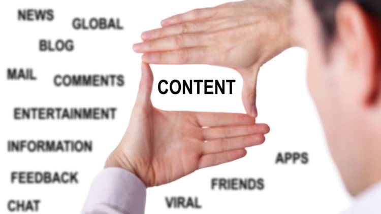 Looking at Website Content Ideas