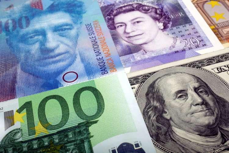 Sterling sinks to two-week low vs euro, one-week low vs dollar 1