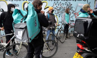 Deliveroo rises as retail investors join trading, riders demand fair pay 12