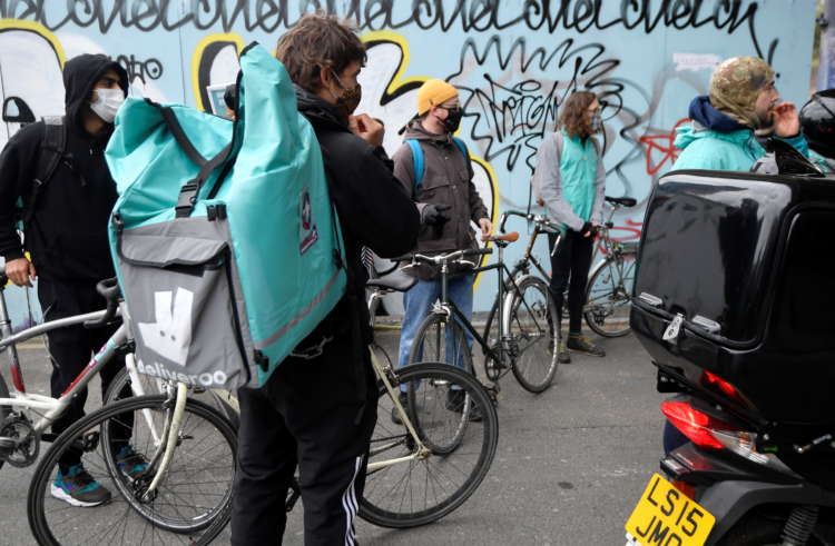 Deliveroo rises as retail investors join trading, riders demand fair pay 13