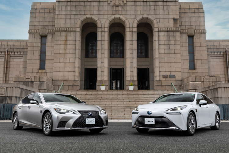 Toyota unveils new models in advanced driver-assist technology push 1