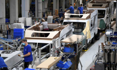Euro zone producer price growth accelerates in February 17