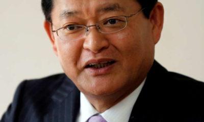 Toshiba chief steps down, shares jump on possible bidding war 7