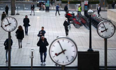 UK productivity rose in 2020 as lockdown hit lower-paid jobs 19