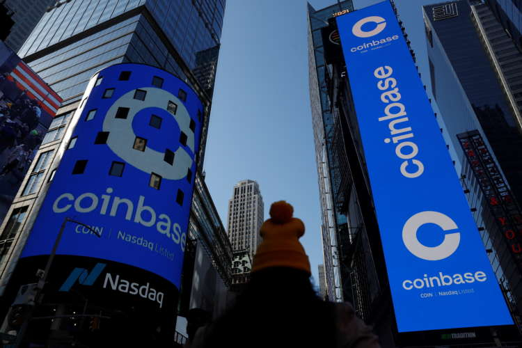 Coinbase valued at $100 billion in Nasdaq debut 4