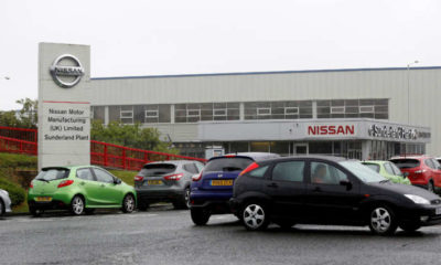 Nissan to furlough 800 workers at its UK plant as chip shortage cuts production-Nikkei 3