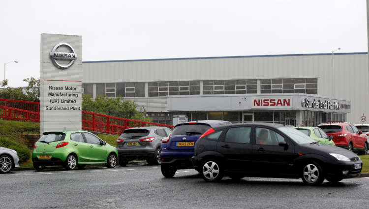 Nissan to furlough 800 workers at its UK plant as chip shortage cuts production-Nikkei 1
