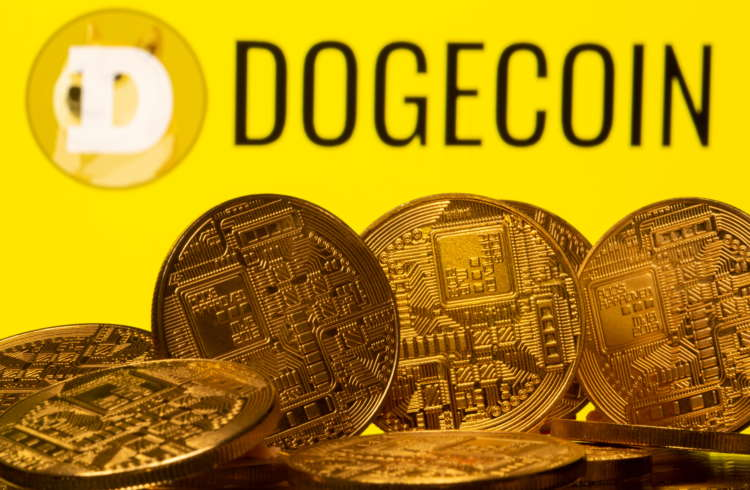 Dogecoin cryptocurrency slumps after hashtag-fueled surge to record high 1