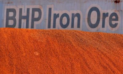 BHP sees full-year iron ore output near upper end of forecast 5