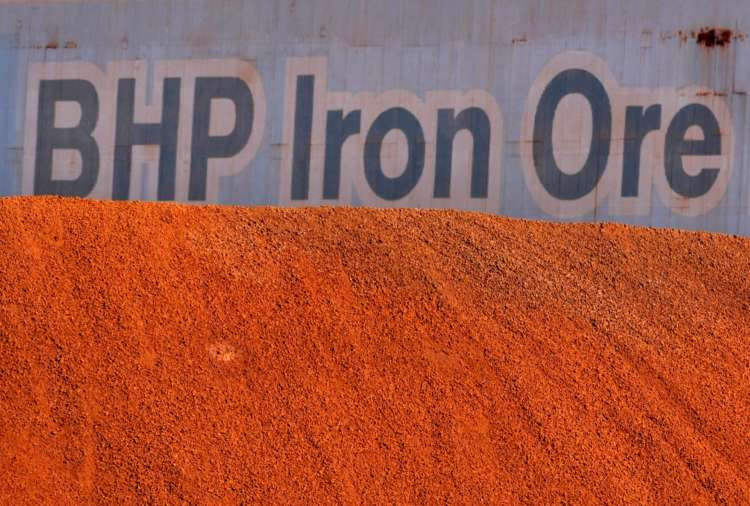 BHP sees full-year iron ore output near upper end of forecast 6