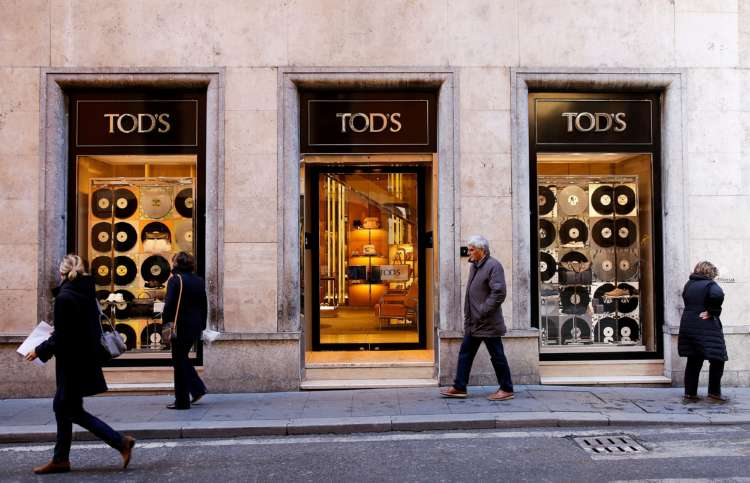 Shares in Tod's jump after LVMH agrees to raise stake