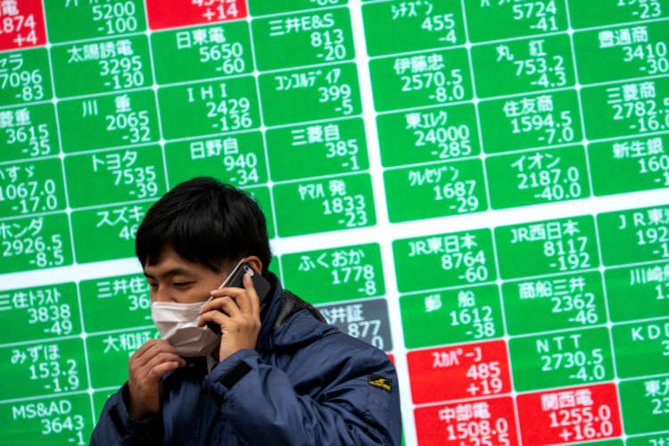 Asia set to follow U.S. stocks higher as dollar, bond yields ease