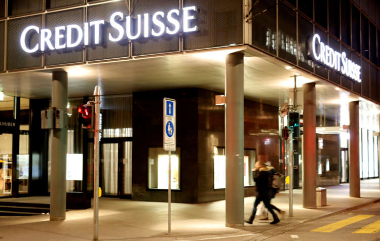 Credit Suisse's U.S. brokerage files lawsuit over personal data leak