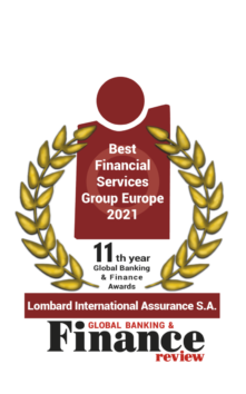 "Lombard International Assurance wins ""Best Financial Services Group Europe 2021"" in this year's Global Banking & Finance Review Awards 4"