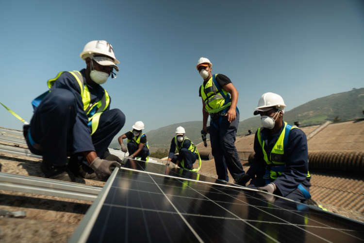 Crypto power Can solar panels boost cheap, green homes in S.Africa