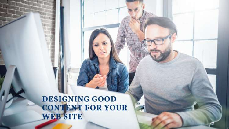 Tips For Designing Good Content for Your Web Site