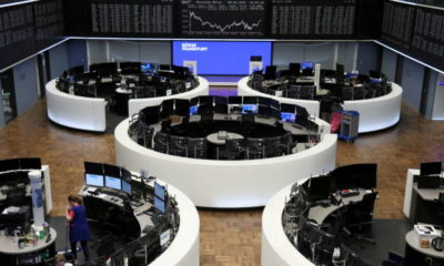 European stocks slip as Fed caution offsets upbeat bank earnings