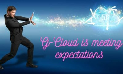 G-Cloud is meeting expectations but it is far from exceeding them