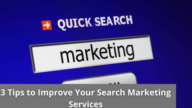 3 Tips to Improve Your Search Marketing Services 12