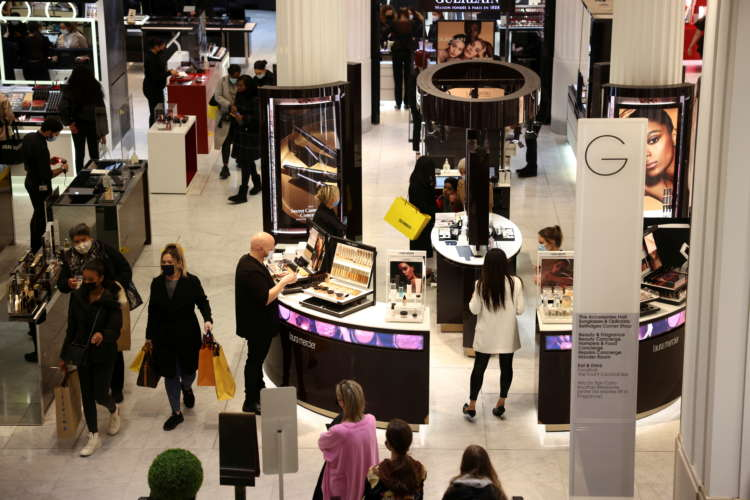 UK shopper numbers edge higher ahead of indoor hospitality reopening