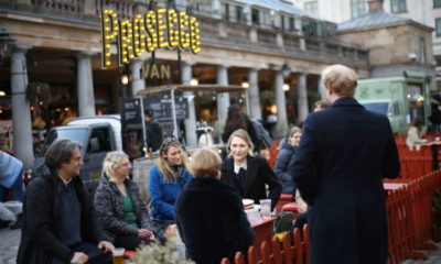 UK spending rises as consumers respond to return of travel, eating out