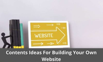 Contents Ideas For Building Your Own Website 3