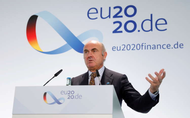 ECB can start phasing out emergency stimulus when vaccinations pick up - de Guindos