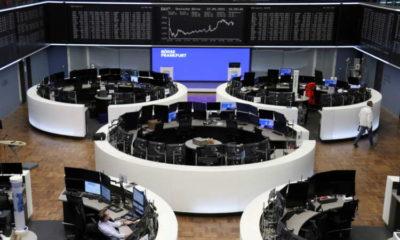 Stocks push for record high on $6 trillion U.S. spending hopes