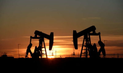 Oil firms as U.S., Europe growth prospects counter India concerns