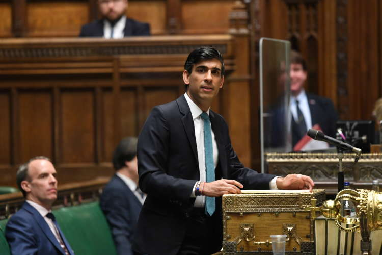 UK finance minister Sunak hopes household spending will bounce back