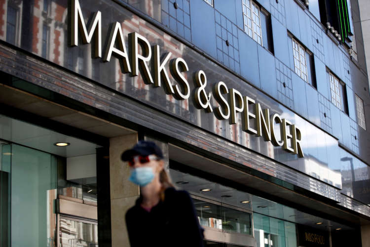 Britain's M&S promotes Machin and Bickerstaffe in top team shake-up