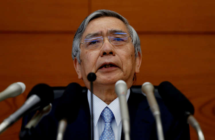 BOJ Kuroda warns of economic risks from spike in COVID-19 cases, new curbs