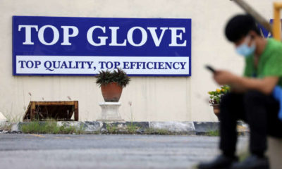 U.S. seizes shipment from Malaysia's Top Glove over forced labour concerns