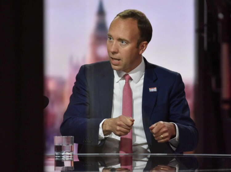 UK health minister defends COVID-19 record after allegations by former PM aide 1