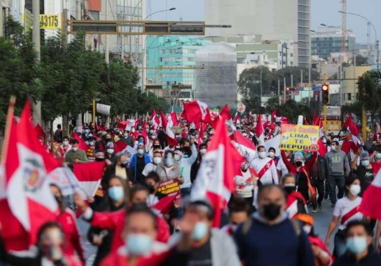 Peru leftist Castillo claims election win as Fujimori fights result 1