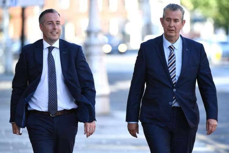 Leader of Northern Ireland's DUP steps down after just three weeks 1