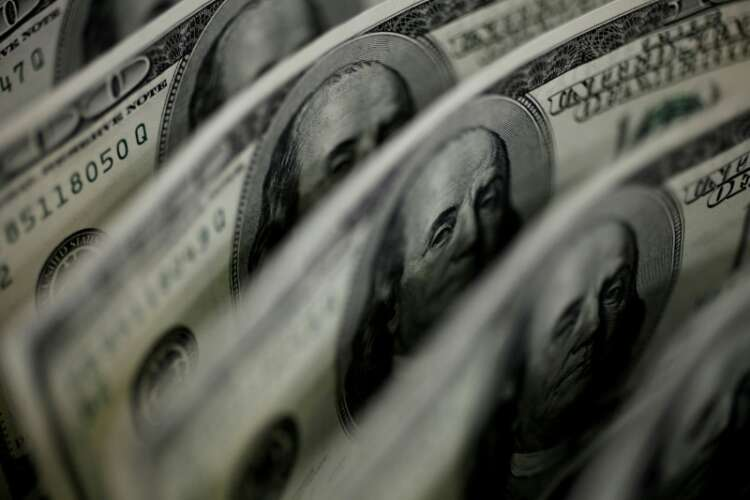 Dollar surges to two-month high on Fed rate-hike projection 1