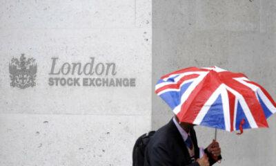 London's FTSE 100 hits one-month low; Morrisons surges 31% 15