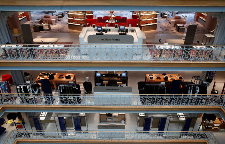 In Paris without tourists, LVMH unveils Samaritaine store revamp 1