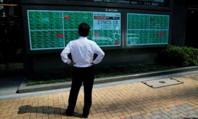 Stocks bounce from four-week lows, dollar pulls back 17