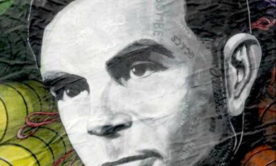 Britain's spy agency honours codebreaker Turing in giant artwork 7