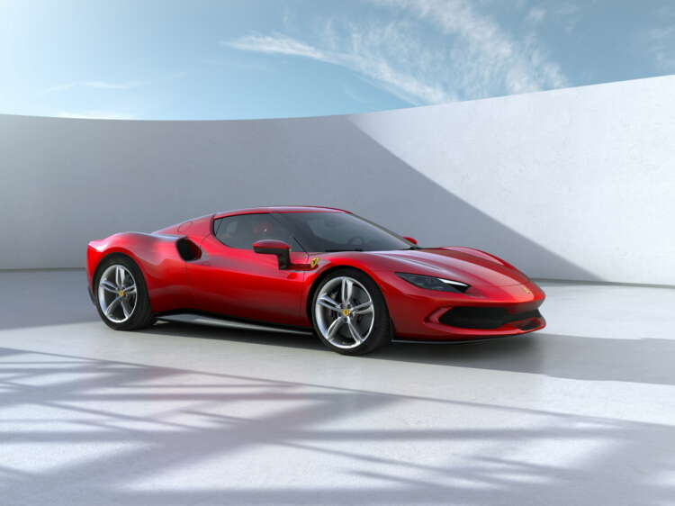Ferrari unveils $320,000 hybrid sports car in its race to electric 1